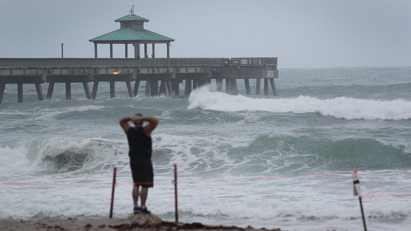 Tropical Storm Isaias Predicted To Make Landfall As A Hurricane In Carolinas : NPR