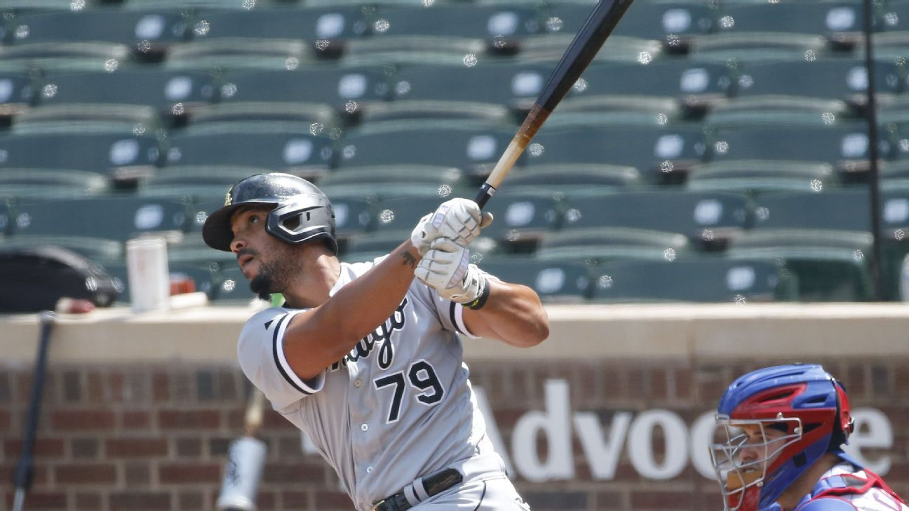 White Sox's Jose Abreu ties mark with six household operates in three-sport series