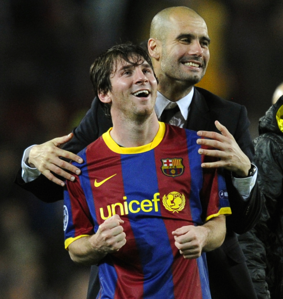 Messi and Guardiola may meet in Man City this summer
