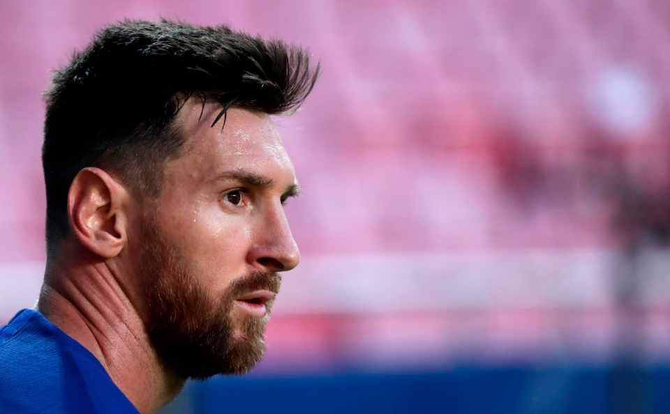 Messi told Barcelona last week that he wanted to leave the Camp Nou this summer