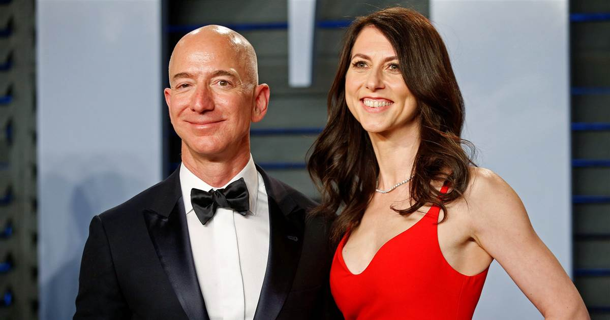 Ex-Lady Bezos is now the richest woman in the world as rises on Wall Street have redistributed top billionaires.