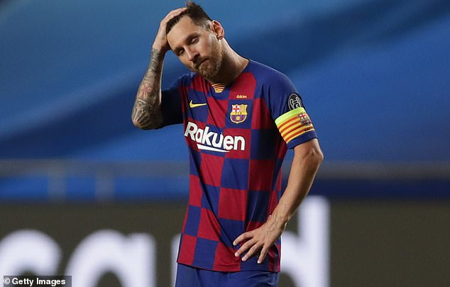 Barcelona is in disarray, reveals Frenkie de Jong as Lionel Messi's transfer saga reaches its climax