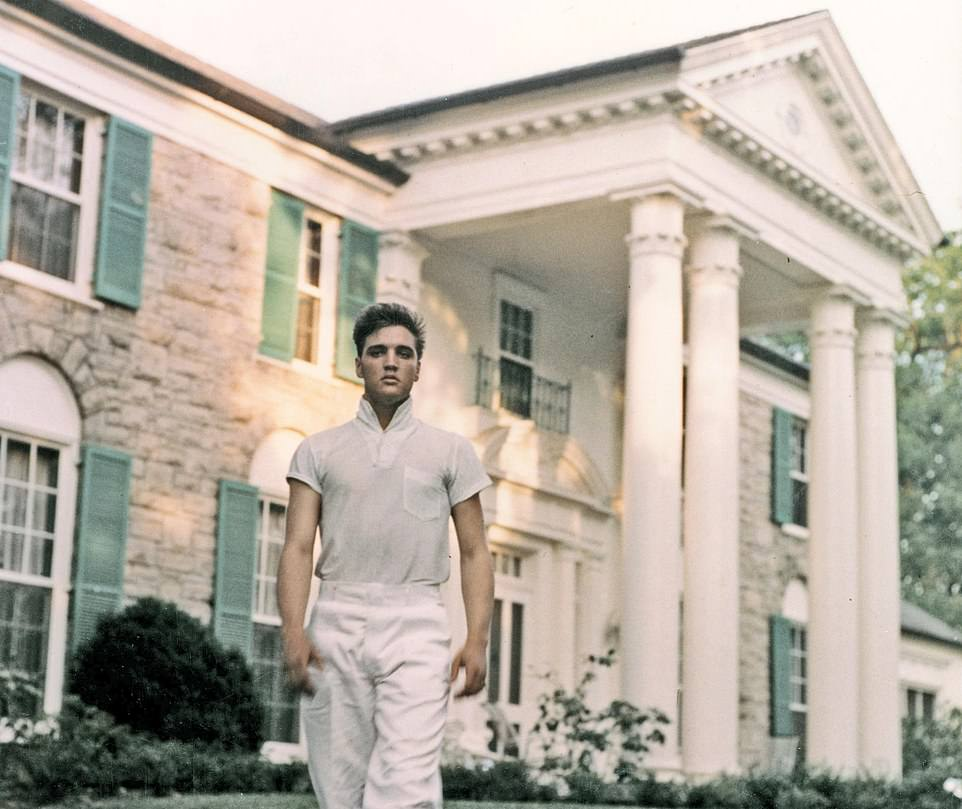Elvis Presley lived in Graceland for two decades before his death on August 16, 1977, at the age of 42.