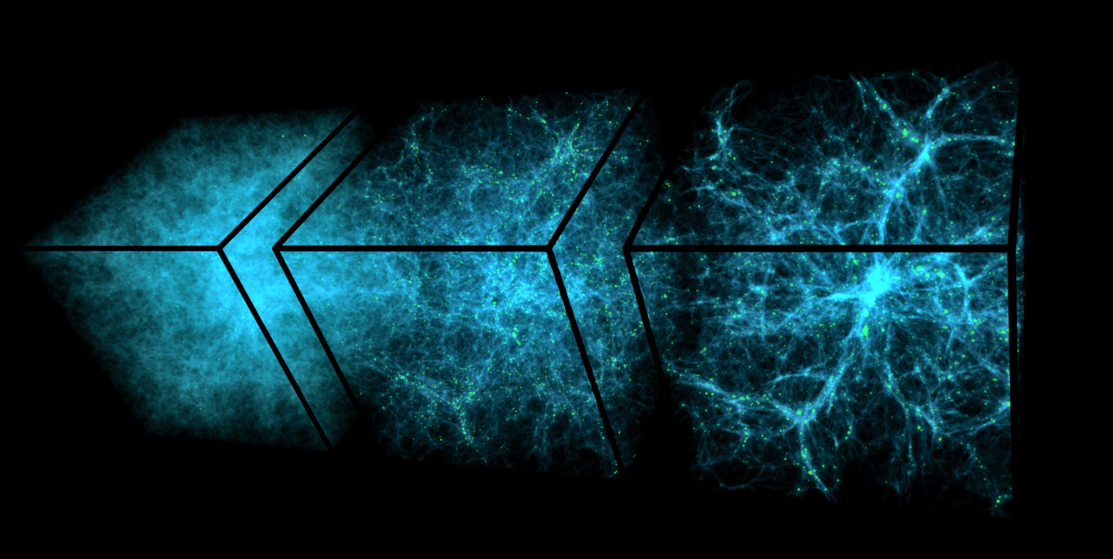 The researchers speculated that the mysterious dark energy lies in a vast sea of intergalactic geodesy