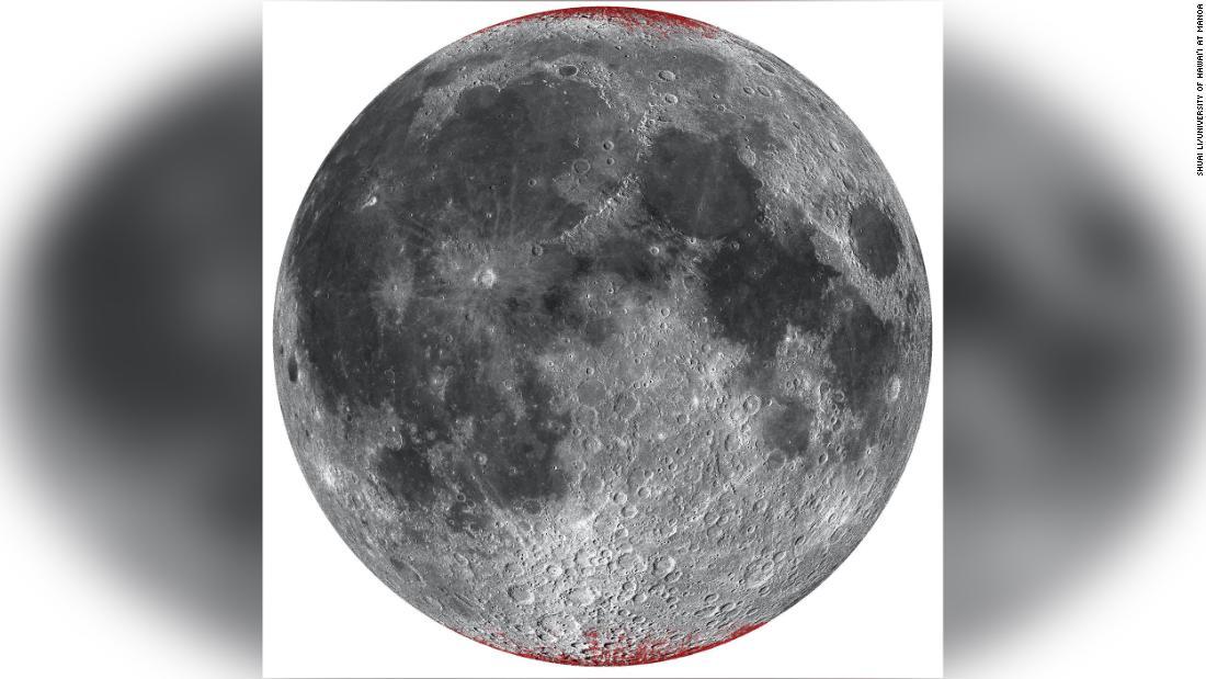 Earth makes the moon rust