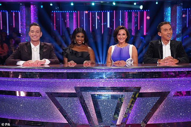 Soldier in: Last month, a source close to Shirley told The Mirror: `` She's definitely going back to Strictly. There's no reason not to share it because she doesn't need to dance to be on a board