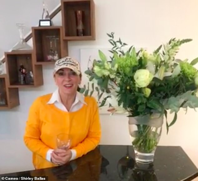 Very excited! The strict court, 60, said she couldn't wait to get messages for events like birthdays and weddings in a short clip announcing her joining Cameo.