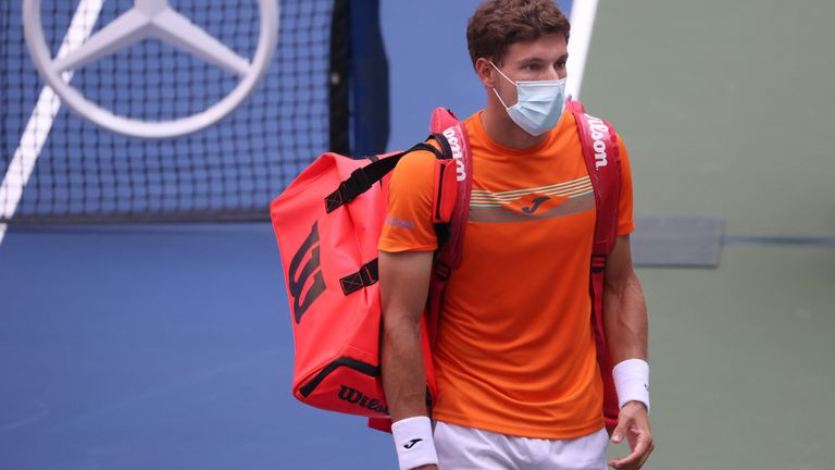 Pablo Carreno Busta said the accident was also a difficult moment for him