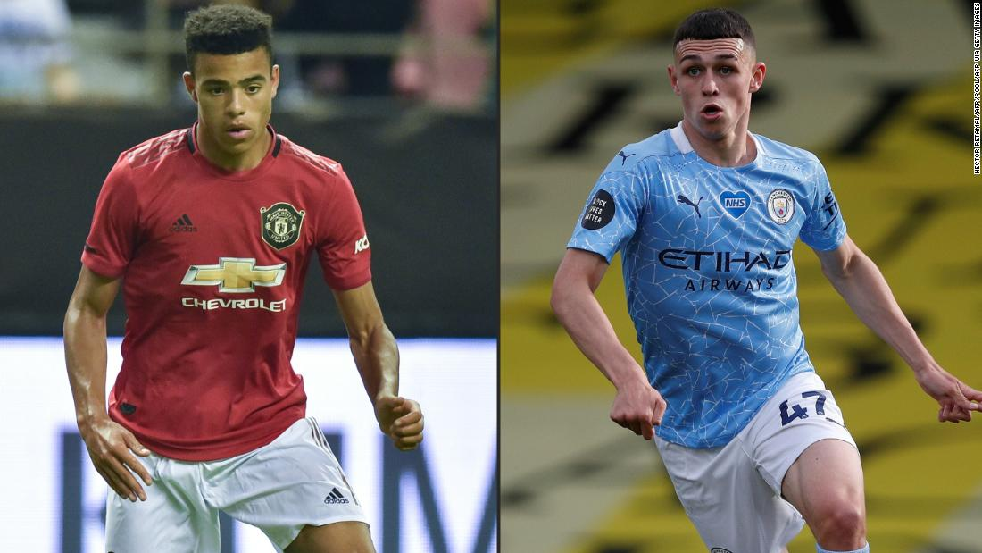 English footballers Phil Foden and Mason Greenwood return home over Covid-19 protocols