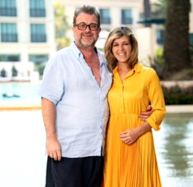 Difficult: Kate, 53, has revealed that her and husband Derek Draper's 15 years of marriage have also happened and that she is unable to see him due to his ongoing illness