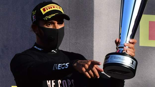 Tuscan Grand Prix: Lewis Hamilton won 90 after an amazing race