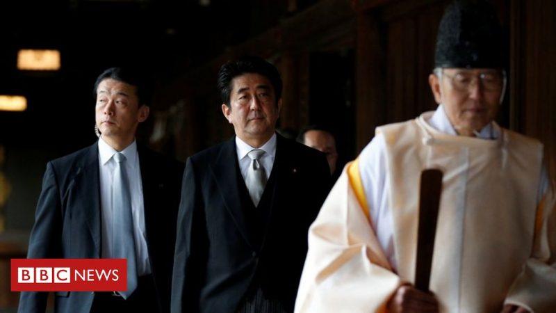 Yasukuni Shrine: Former Japanese Prime Minister Abe visits controversial memorial
