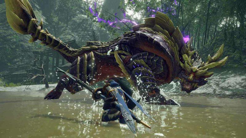 Yes, Monster Hunter Rise runs on Capcom's RE Engine