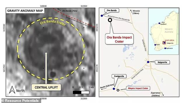 Miners were working near the historic mining town of Ura Panda in Gold Fields, northwest of Kalgoorlie Boulder, when they discovered seemingly out of place rocks.