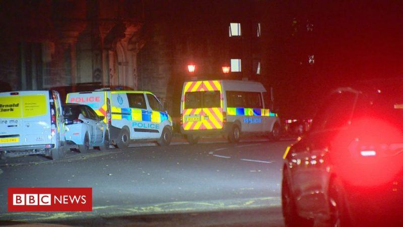 Police break up parties in student halls in Edinburgh