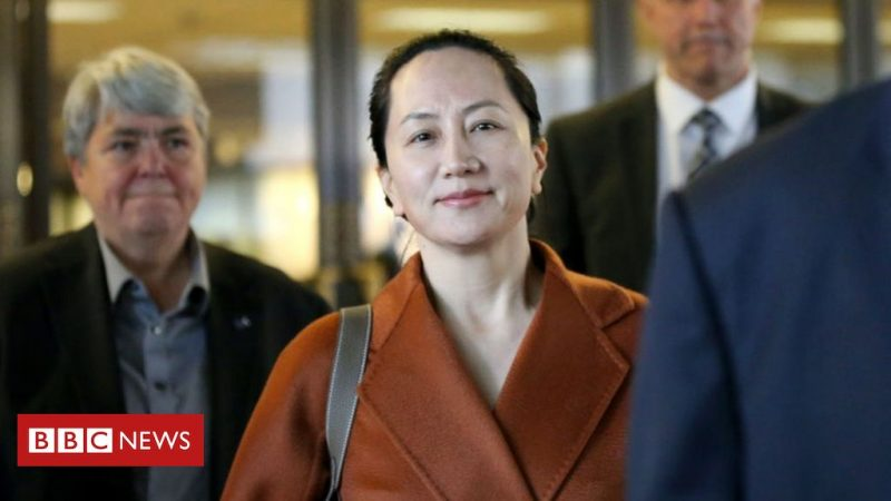 Meng Wanzhou: The PowerPoint Program That Sparked An International Conflict