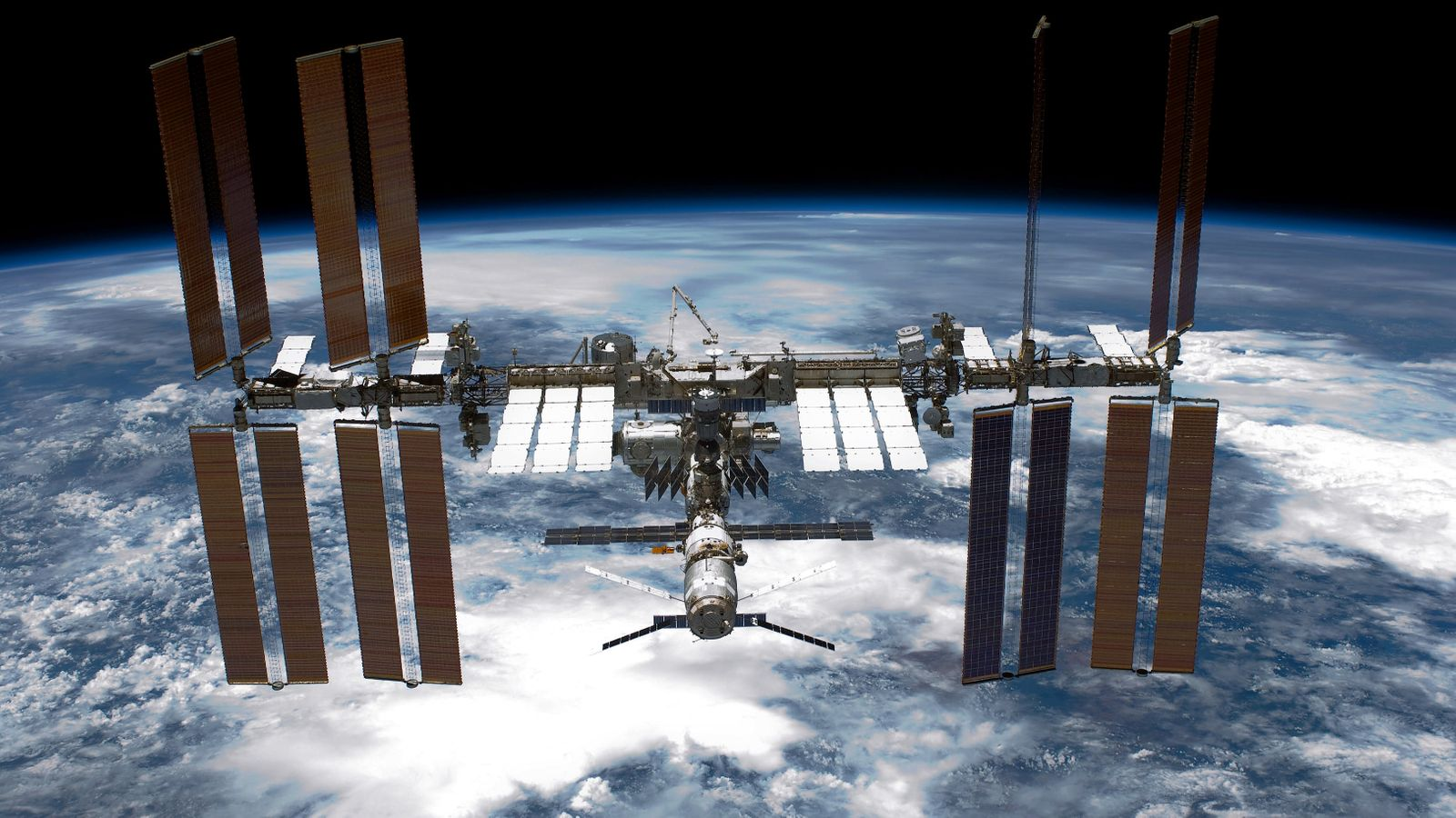 The International Space Station 'may require an aerial delivery' due to a leak  Science and Technology News