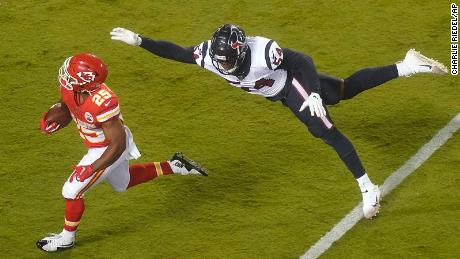 Most memorable moments from Chiefs vs. Texans on opening night