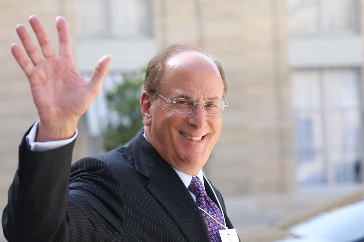 BlackRock CEO Larry Fink believes working from home is here to stay