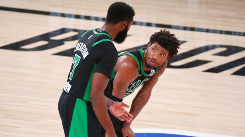 Boston Celtics reduces locker room frustrations after losing to the Miami Heat