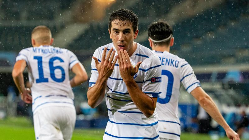 Champions League play-off results: Dynamo Kiev and Olympiacos advance to the group stage
