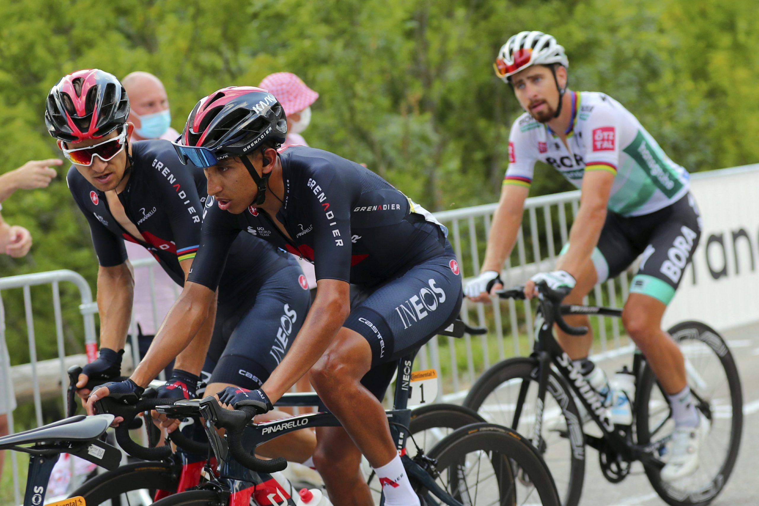 Defending champion Egan Bernal withdraws from the Tour de France