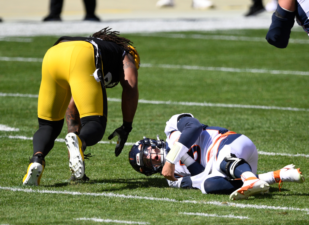 Drew Locke was injured when the Broncos fell on 26-21 to Pittsburgh – Denver Post
