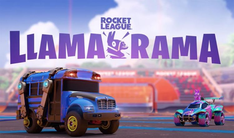 Fortnite x Rocket League Llama-Rama Event Date, Start Time, Challenges, and Slushii Party   Games   entertainment
