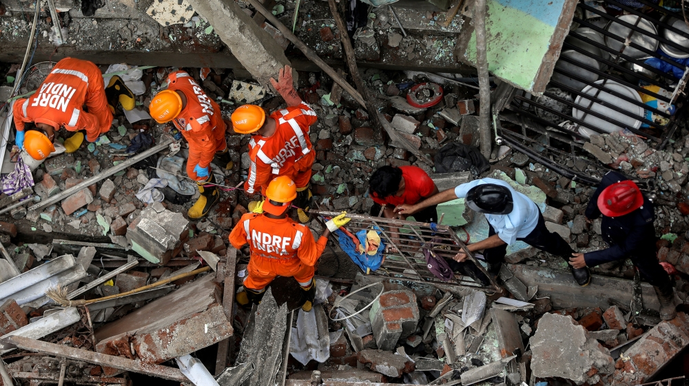 India: A deadly building collapses near Mumbai, many fear trapped |  India News