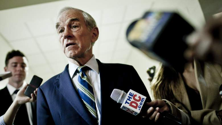 It appears that Ron Paul has a stroke in the live broadcast