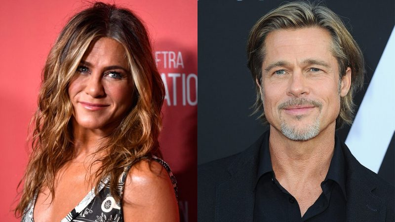 "Jennifer Aniston, Brad Pitt flirts while in ""Fast Times at Ridgemont High"" schedule character"