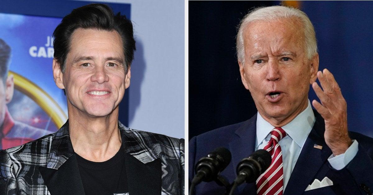 Jim Carrey is the new Joe Biden from SNL
