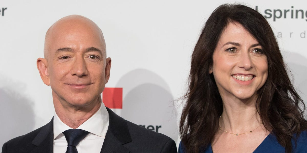 MacKenzie Scott, Jeff Bezos' ex-wife, is the richest woman in the world