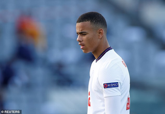 Mason Greenwood, the youngster at Manchester United, deleted his Twitter account after being banished from England