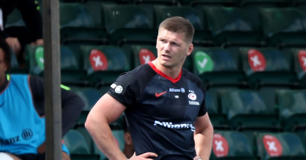 Owen Farrell handed five-week ban for high tackle