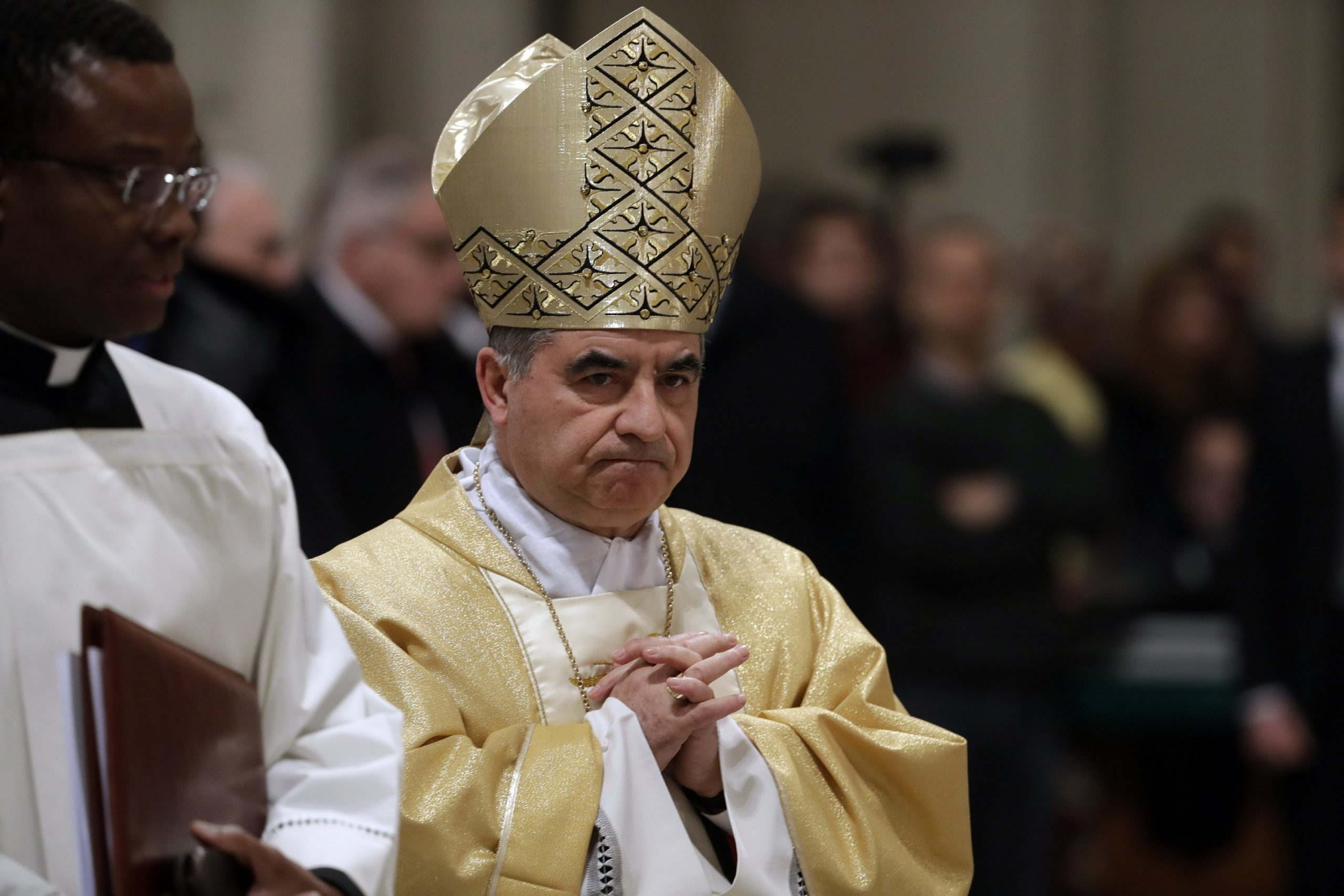 Powerful Vatican Cardinal Bessio resigns amid scandal