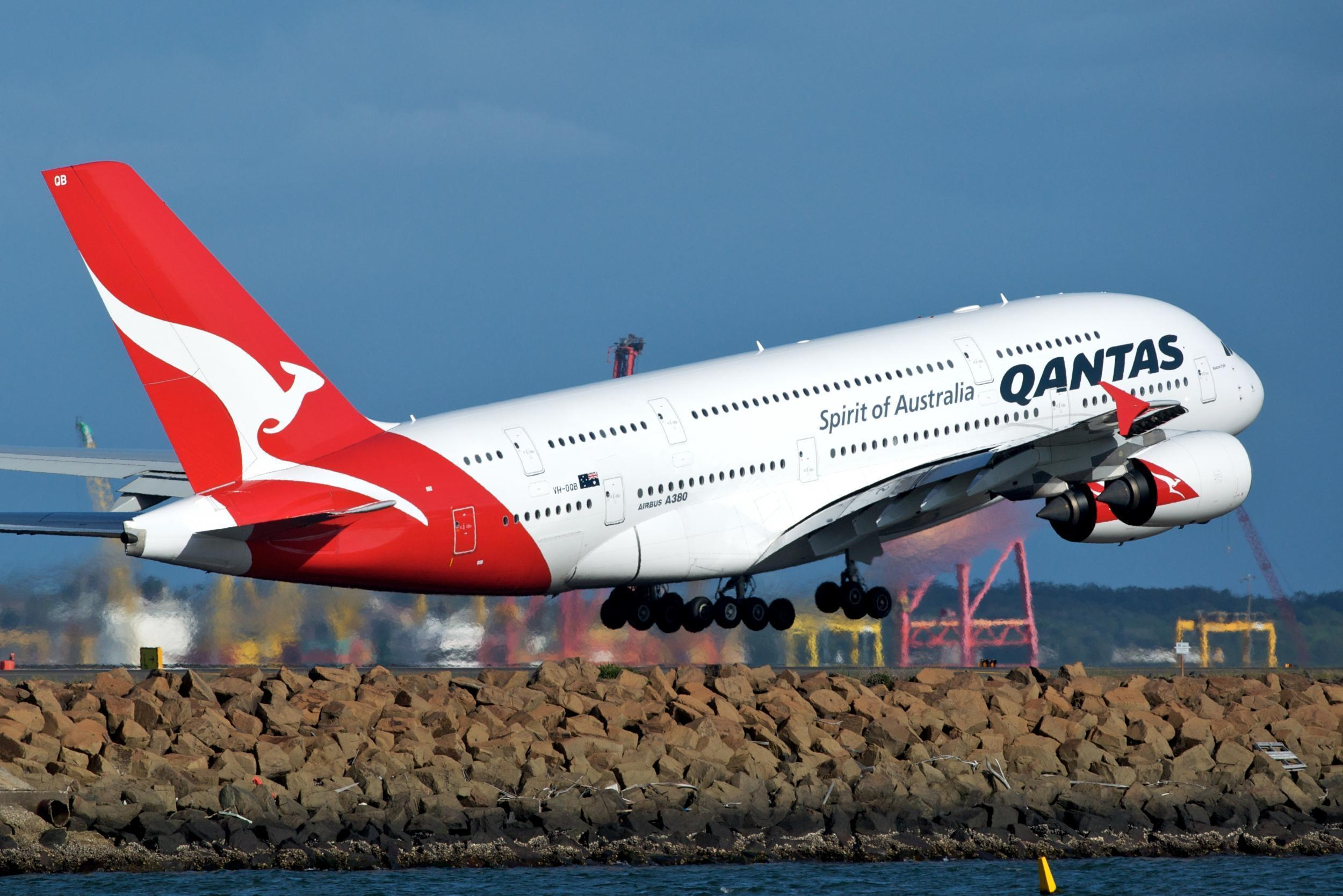Qantas flight sold to anywhere within 10 minutes