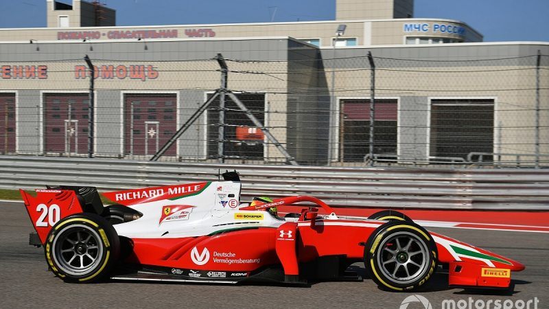 Schumacher passes Tsunoda and claims victory in the Distinguished Race