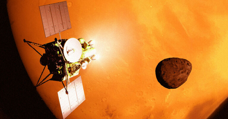 The Japanese spacecraft will launch Mars satellites with 8K resolution