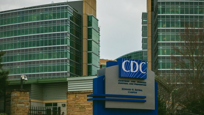 Virus transmission advice disappears from the CDC website