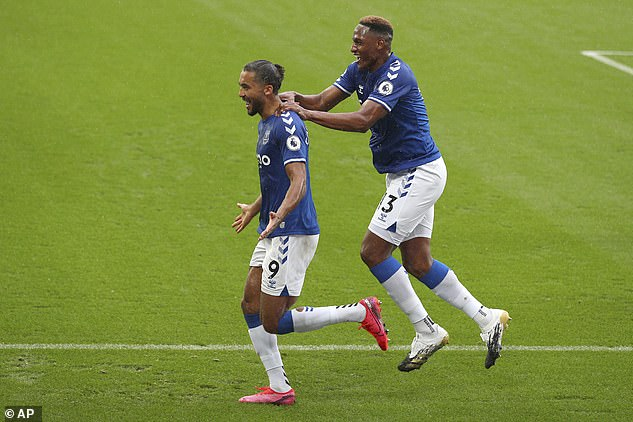 The young Everton superstar rose to the highest levels in the far center to categorically bolster his efforts