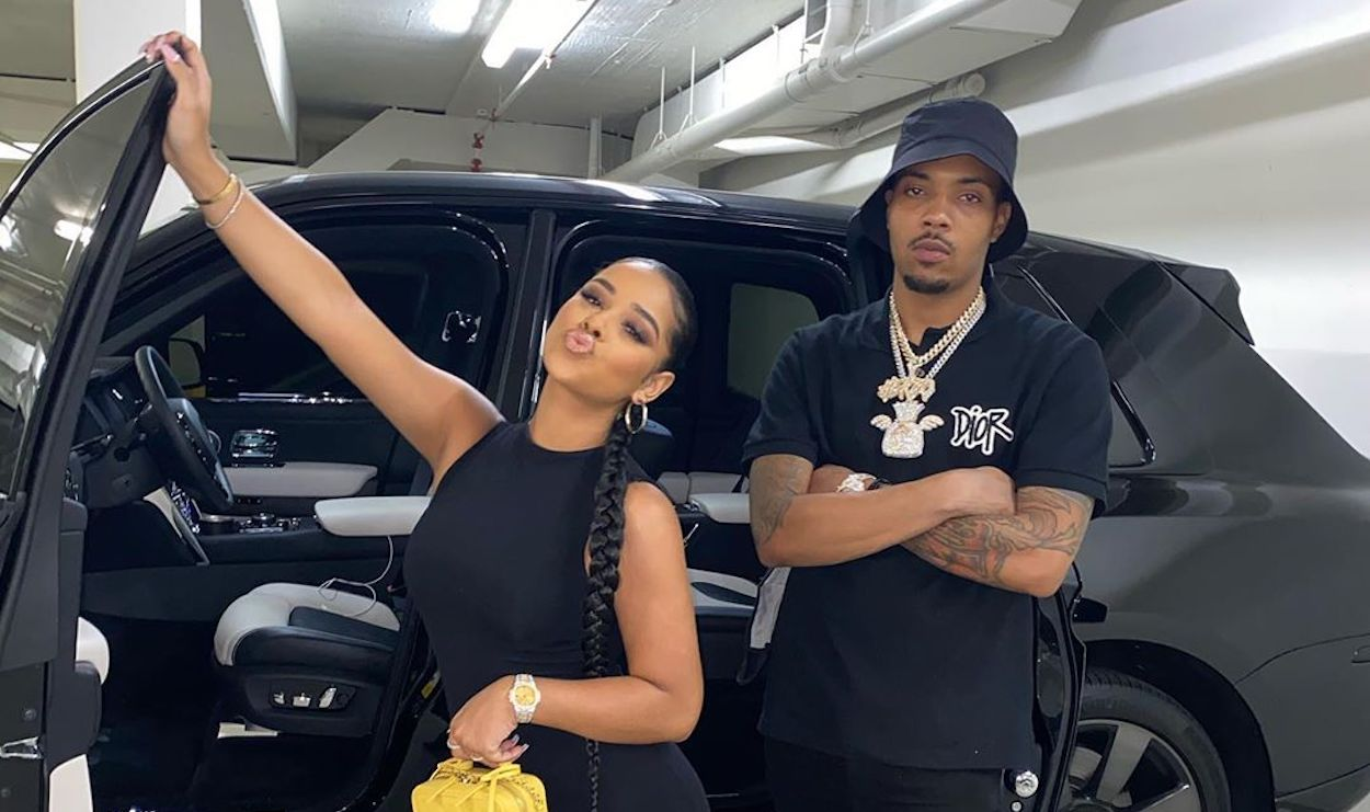 Taina Gifted G Herbo has been criticizing the $ 100K Trackhawk Jeep by fans