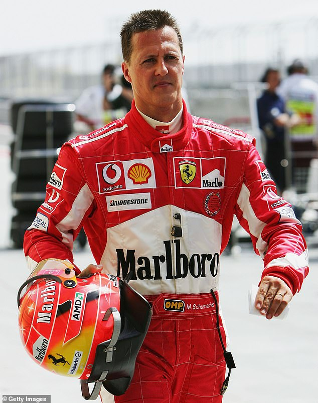 The seven-time world champion enjoyed iconic helmet designs during his time in the sport