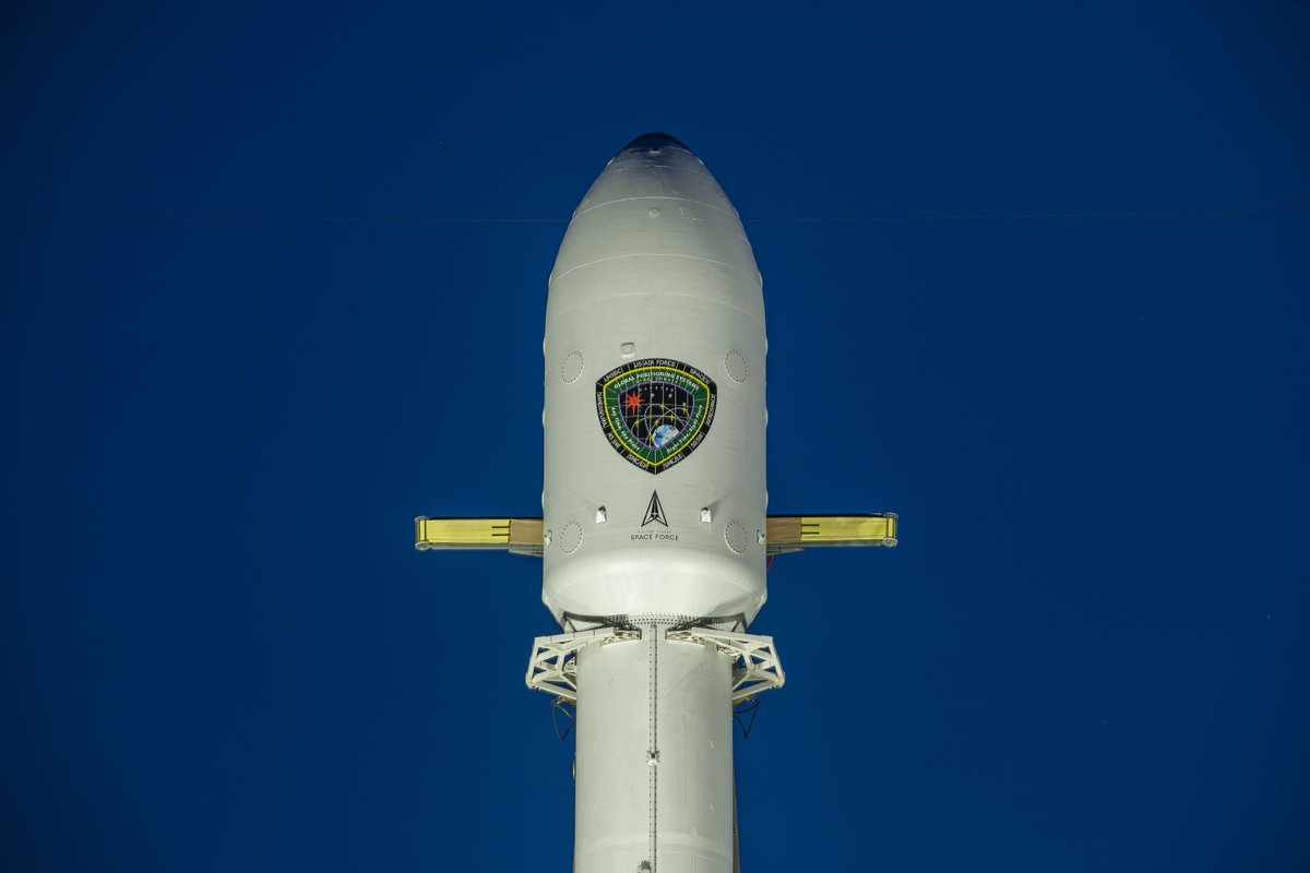 SpaceX Falcon 9 USSF GPS III satellite