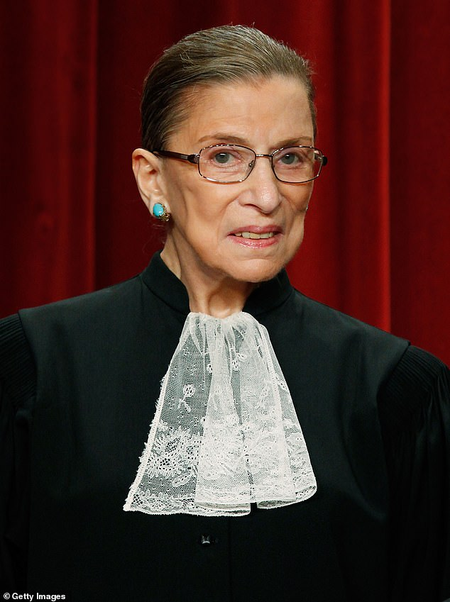 Last month, Megan paid tribute to Ginsburg in a statement released to the media shortly after her death