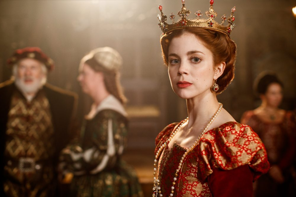 """The costume designer for """"The Spanish Princess"""" on Queen Catherine in Season 2"""