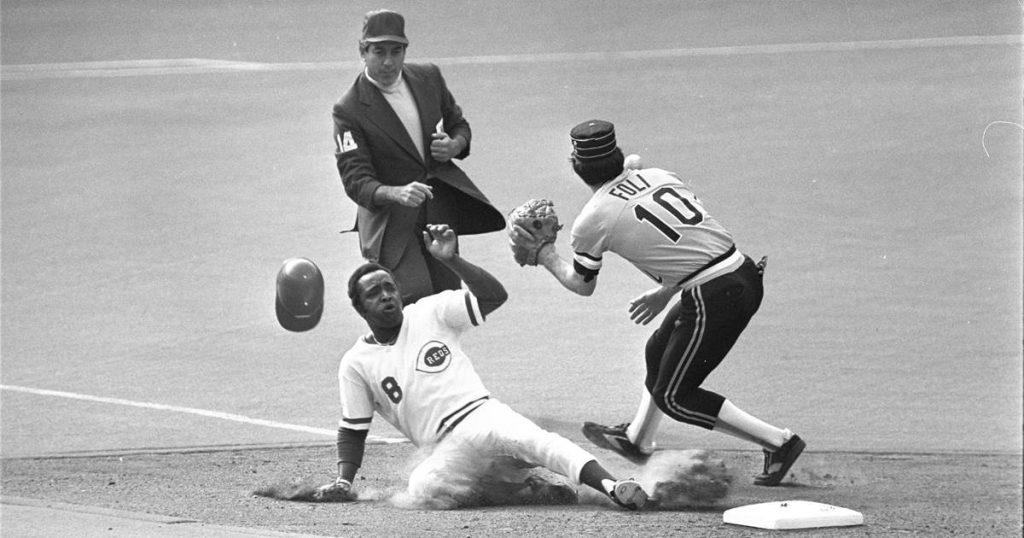 Joe Morgan, second Cincinnati Reds base player who turned 1970's 'Big Red Machine', dies at 77