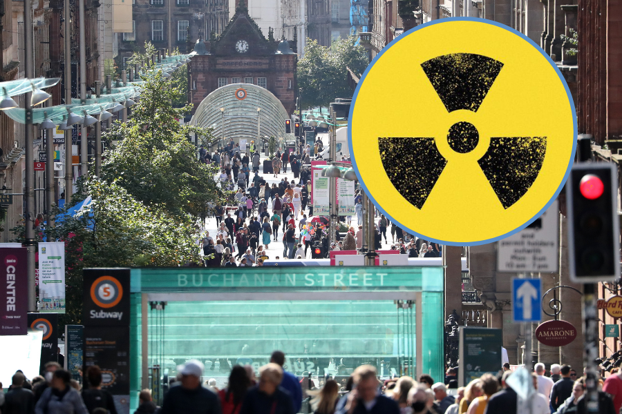 Radioactive gas in Glasgow: Map reveals radon hotspots around the city