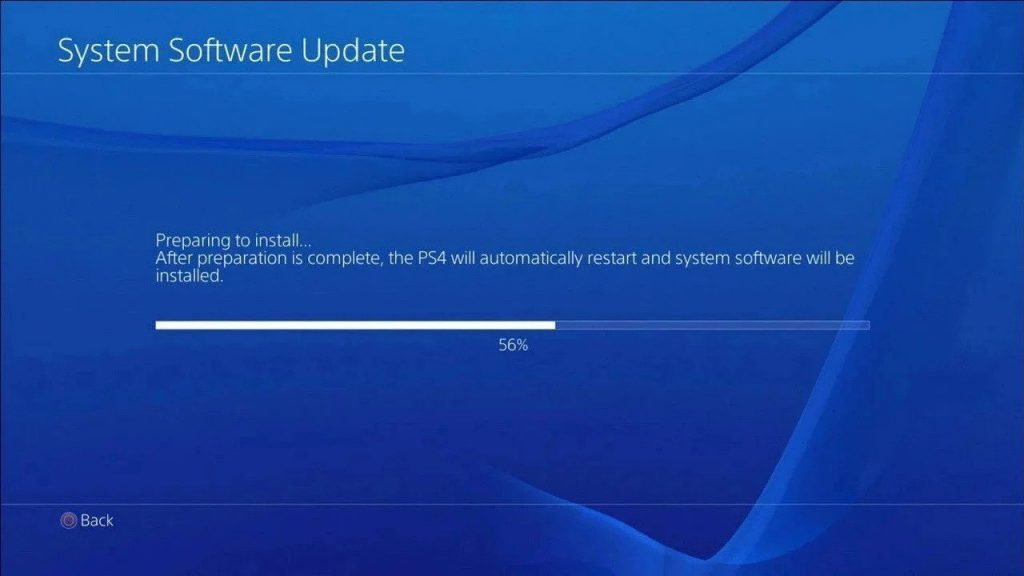 PS4 Firmware Update 8.00 is available for download today