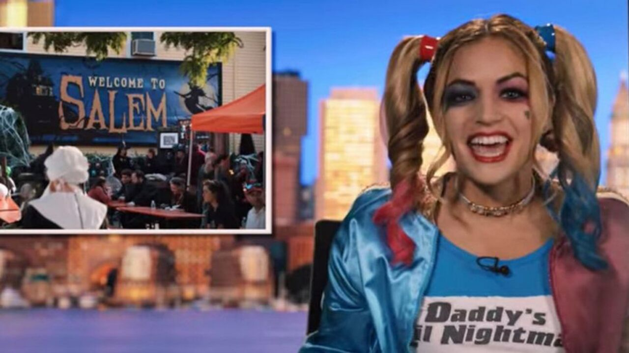 The Boston News Anchor claims she was fired after appearing in Adam Sandler's film Hubie Halloween